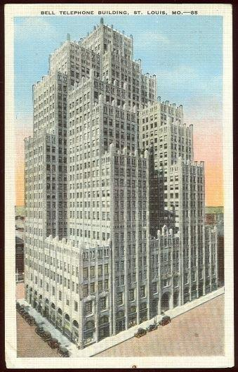 Image for BELL TELEPHONE BUILDING, ST. LOUIS, MISSOURI