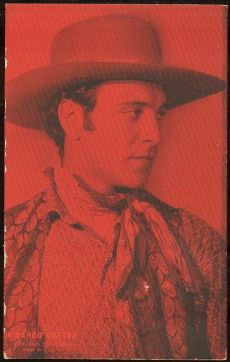 ARCADE CARD LATIN LEADING MAN RICARDO CORTEZ