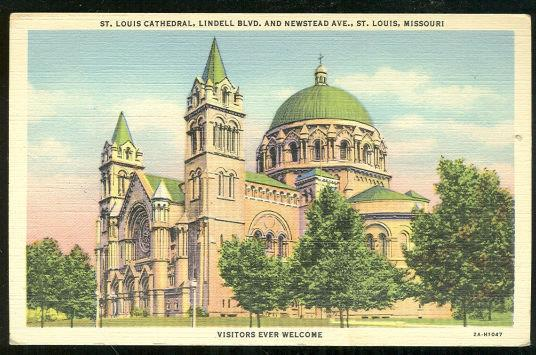 Image for ST. LOUIS CATHEDRAL, ST. LOUIS, MISSOURI