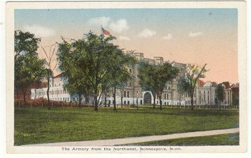 Image for ARMORY FROM THE NORTHWEST, MINNEAPOLIS, MINNESOTA