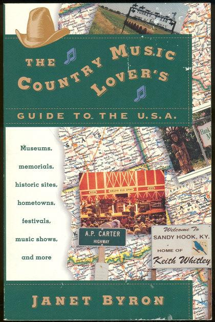 Image for COUNTRY MUSIC LOVER'S GUIDE TO THE U.S.A