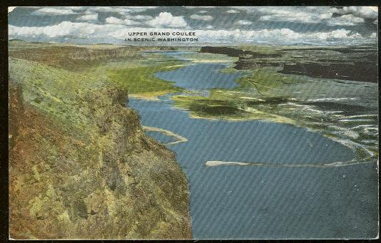 Image for UPPER GRAND COULEE, WASHINGTON STATE