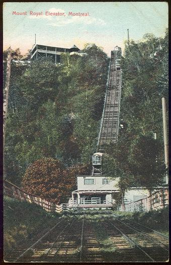 Image for MOUNT ROYAL ELEVATOR, MONTREAL, CANADA