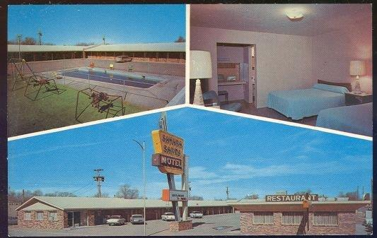 SAHARA SANDS MOTEL, TUCUMCARI, NEW MEXICO, Postcard