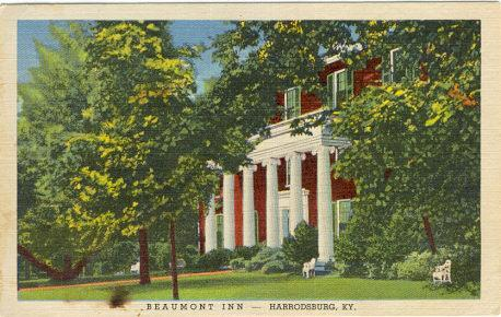 BEAUMONT INN, HARRODSBURG, KENTUCKY, Postcard