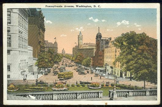 PENNSYLVANIA AVENUE, WASHINGTON, D. C., Postcard