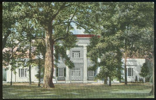 HERMITAGE, PRESIDENT JACKSON HOME, NASHVILLE, TENNESSEE, Postcard