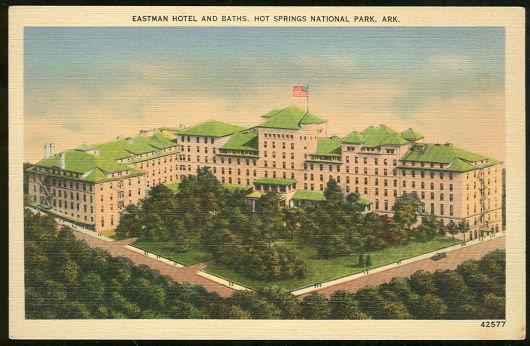Image for EASTMAN HOTEL HOT SPRINGS NATIONAL PARK, ARKANSAS