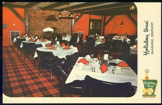 HOLIDAY INN, GLASGOW, KENTUCKY, Postcard