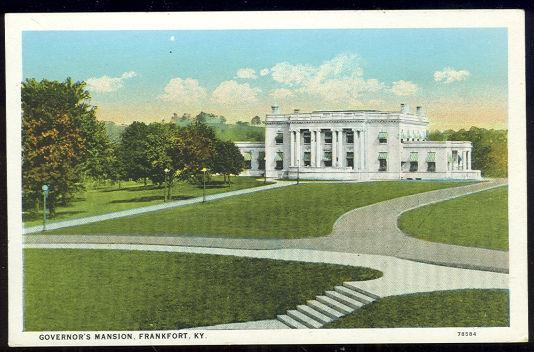 Image for GOVERNOR'S MANSION, FRANKFORT, KENTUCKY