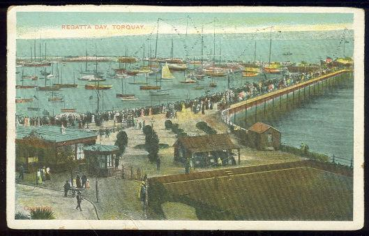 REGATTA DAY, TORQUAY, UNITED KINGDOM, Postcard