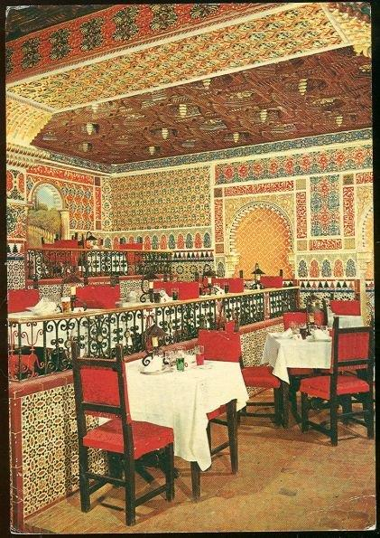 TORRES BERMEJAS RESTAURANTE, PARRILLA, FLAMENCA, MADRID, SPAIN, Postcard
