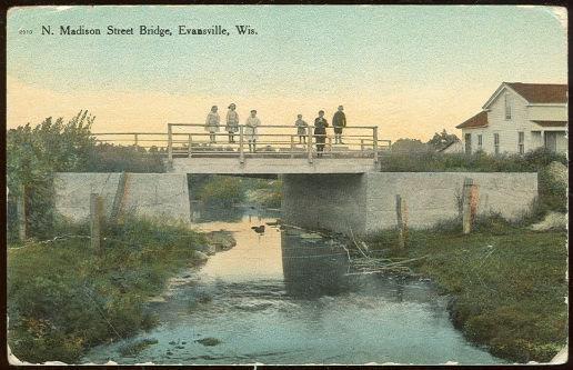 Image for N. MADISON STREET BRIDGE, EVANSVILLE, WISCONSIN