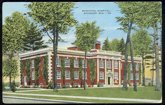 Image for MUNICIPAL HOSPITAL, SHAWANO, WISCONSIN