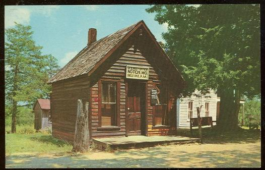 Image for UNCLE IKE'S POST OFFICE, NOTCH, MISSOURI