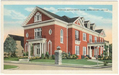 Image for WOMAN'S DEPARTMENT CLUB, SHREVEPORT, LOUISIANA