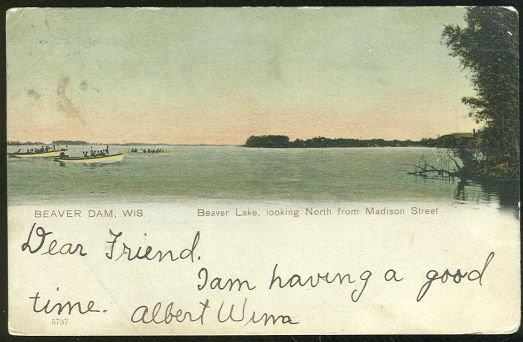 Image for BEAVER LAKE, BEAVER DAM, WISCONSIN