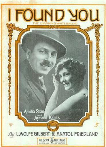 I FOUND YOU, CHARMING WALTZ BALLAD, Sheet Music