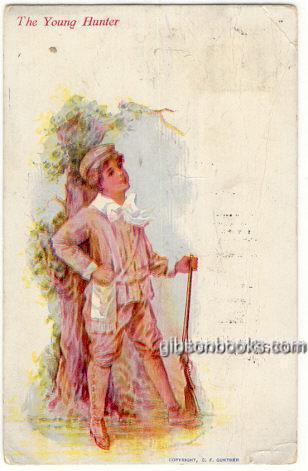 YOUNG HUNTER, Postcard