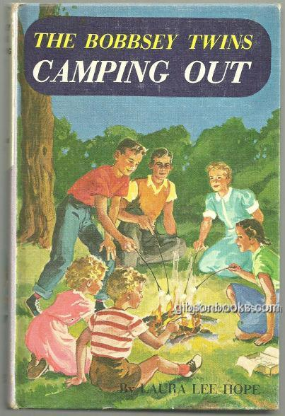 BOBBSEY TWINS CAMPING OUT, Hope, Laura Lee