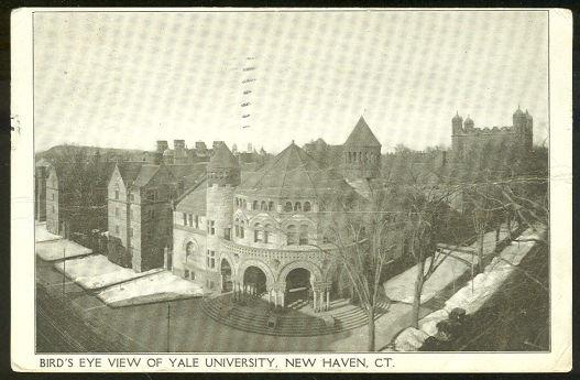 Image for BIRD'S EYE VIEW, YALE UNIVERSITY, NEW HAVEN, CONNECTICUT