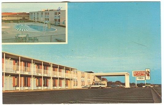 RAMADA INN OF BURLINGTON, NORTH CAROLINA, Postcard