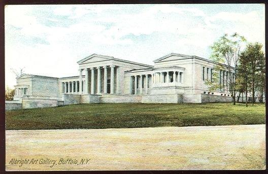 ALBRIGHT ART GALLERY, BUFFALO, NEW YORK, Postcard