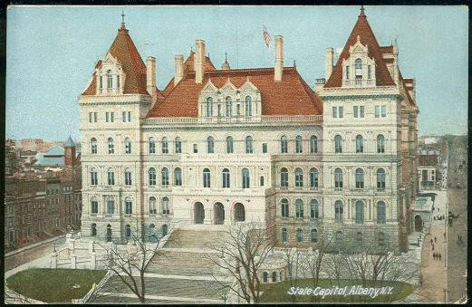 STATE CAPITOL, ALBANY, NEW YORK, Postcard