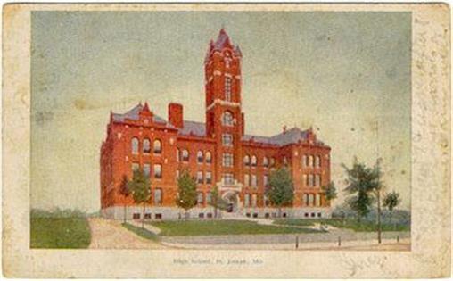 Image for HIGH SCHOOL, ST. JOSEPH, MISSOURI