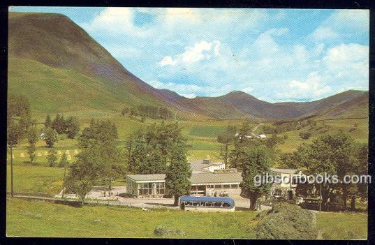 GLENSHEE HOTEL, PERTHSHIRE, SCOTLAND, Postcard