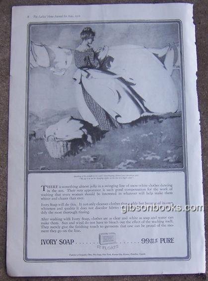 1916 LADIES HOME JOURNAL IVORY SOAP MAGAZINE ADVERTISEMENT, Advertisement