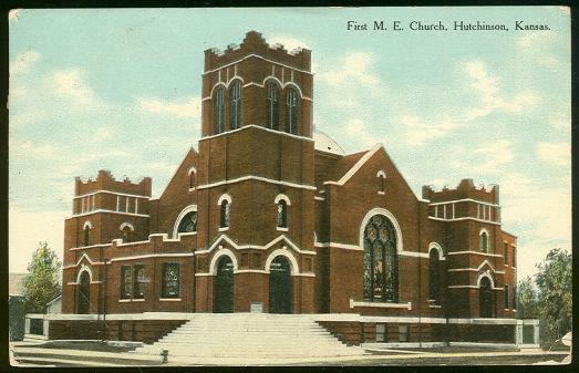 Image for FIRST M.E. CHURCH, HUTCHINSON, KANSAS