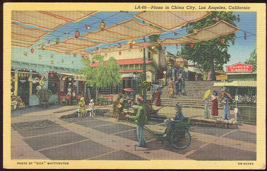 Image for PLAZA IN CHINA CITY LOS ANGELES, CALIFORNIA