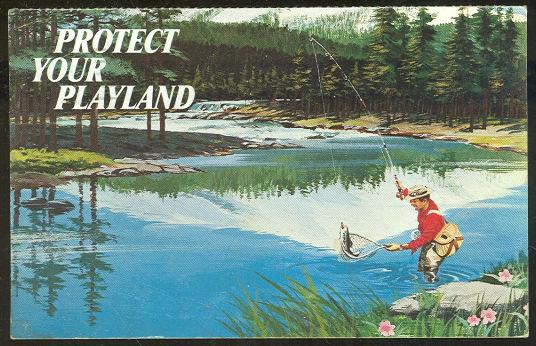 Image for MAN FISHING, PROTECT YOUR PLAYLAND