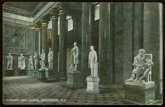 Image for STATUARY HALL, CAPITOL, WASHINGTON, D. C.
