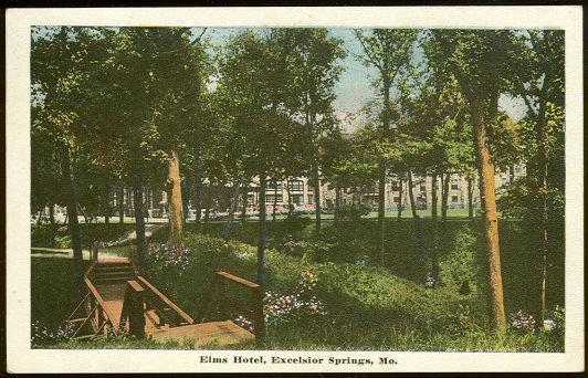 Image for ELMS HOTEL, EXCELSIOR SPRINGS, MISSOURI