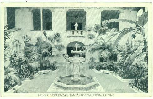 Image for PATIO OR COURTYARD, PAN AMERICAN UNION BUILDING, WASHINGTON DC