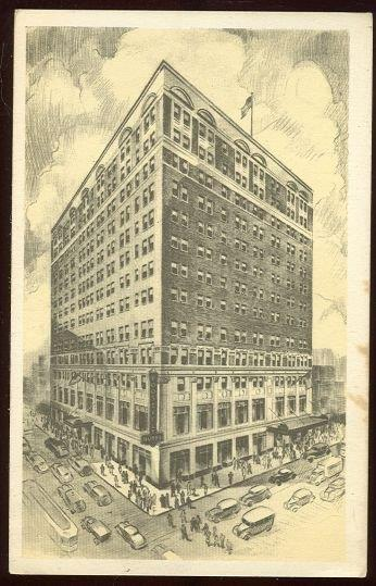 ROOSEVELT HOTEL, PITTSBURGH, PENNSYLVANIA, Postcard