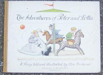 ADVENTURES OF PETER AND LOTTA, Beskow, Elsa