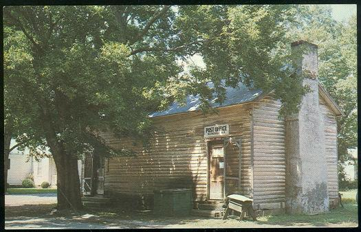 US POST OFFICE, MOORESVILLE, ALABAMA, Postcard