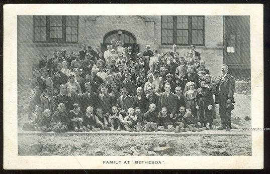 FAMILY AT BETHESDA SCHOOL, Postcard