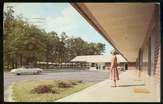 OAKS MOTEL, GREENSBORO, NORTH CAROLINA, Postcard