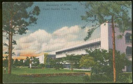 Image for UNIVERSITY OF MIAMI, CORAL GABLES, FLORIDA