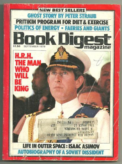 BOOK DIGEST MAGAZINE SEPTEMBER 1979, Book Digest