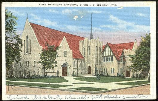 Image for FIRST METHODIST EPISCOPAL CHURCH, SHEBOYGAN, WISCONSIN