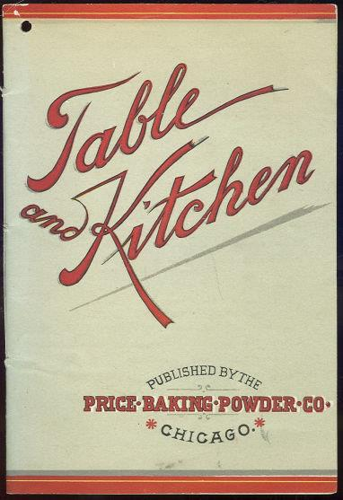 TABLE AND KITCHEN, Price Baking Powder