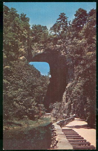 Image for NATURAL BRIDGE OF VIRGINIA