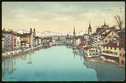Image for CITY SCENE OF ZURICH, SWITZERLAND