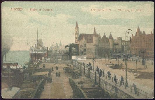 Image for VLOTBRUG ET STEEN, ANTWERPEN, BELGIUM; ANVERS STEEN ET PONTON