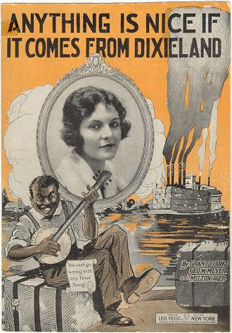 ANYTHING IS NICE IF IT COMES FROM DIXIELAND, Sheet Music